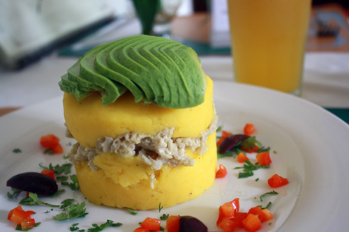 Peru a very exciting south american adventure veganized causa at bircher benner in lima forumfinder
